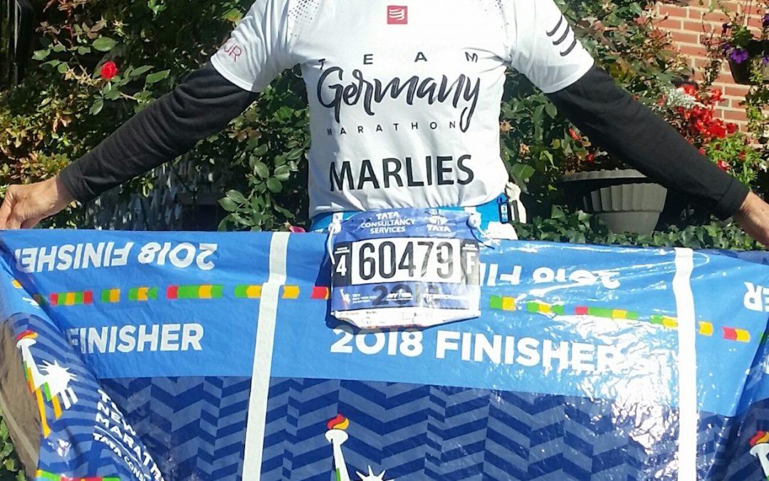 Mit 72 zum New York City Marathon