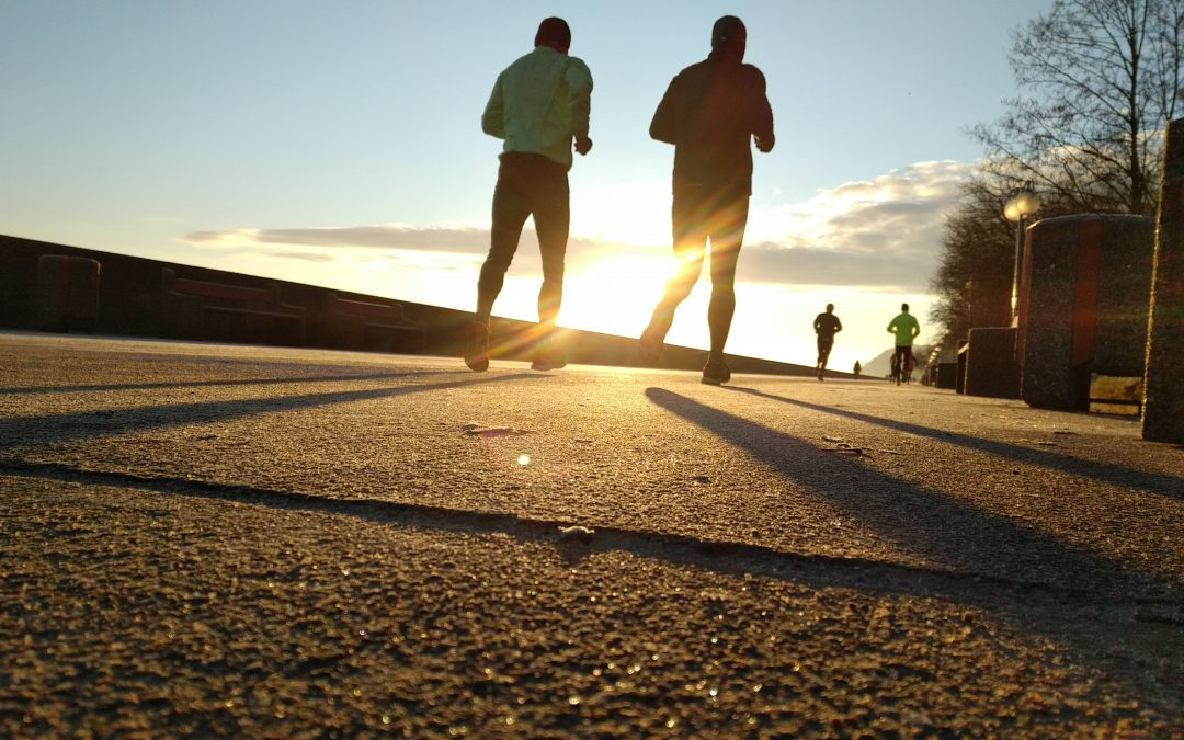 Laufen bringt Bewegung in den Darm